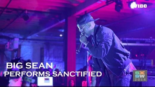 SXSW: Big Sean Performs