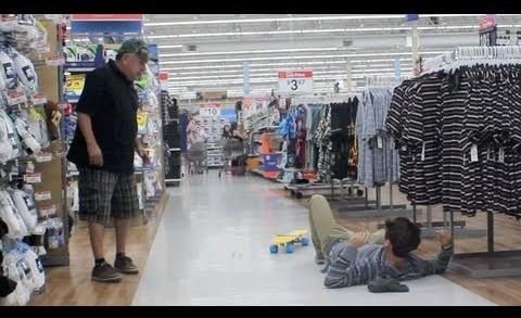 Skateboarding in Walmart – JC Caylen