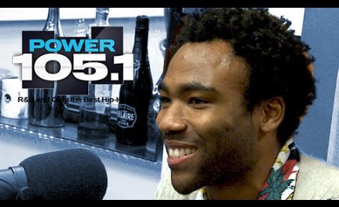 Childish Gambino Interview at The Breakfast Club Power 105.1 (09/10/2014)