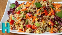Rainbow Quinoa Salad Recipe