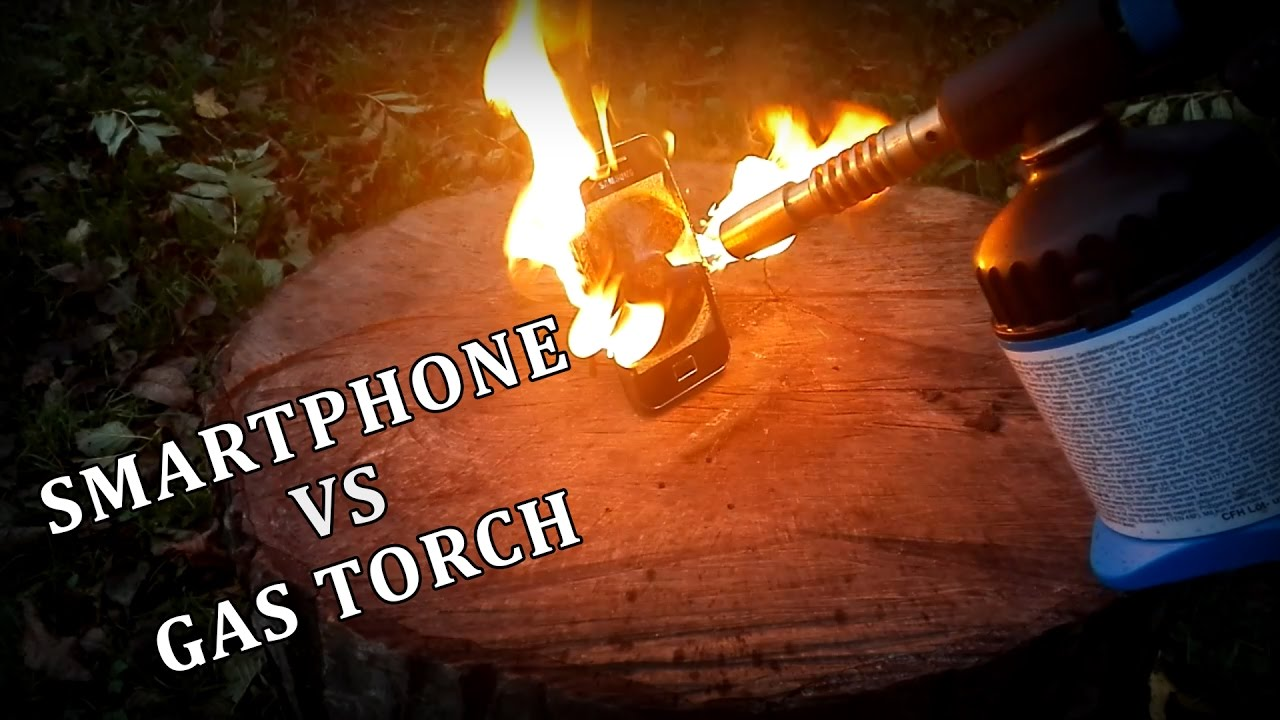 SMARTPHONE VS GAS TORCH – Experiment
