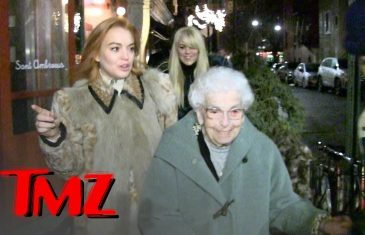Lindsay Lohan Celebrates Grandma's 94th Birthday | TMZ