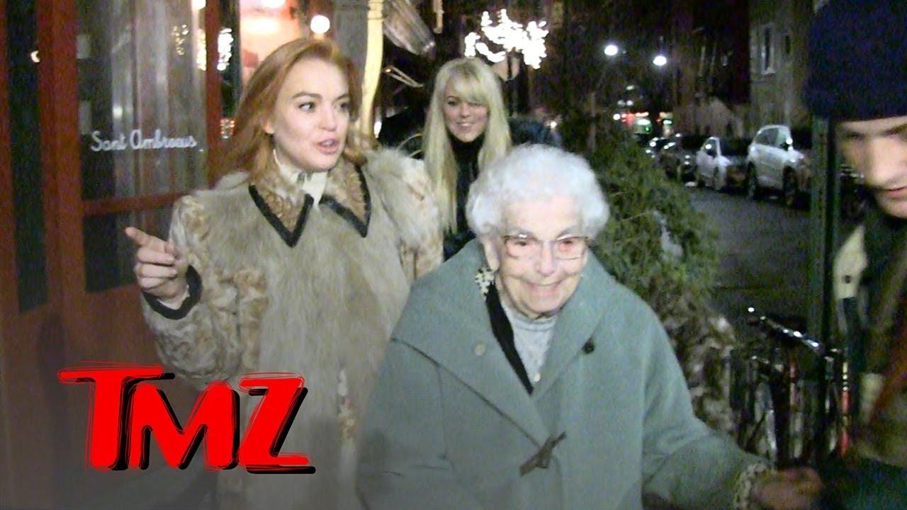 Lindsay Lohan Celebrates Grandma's 94th Birthday | TMZ